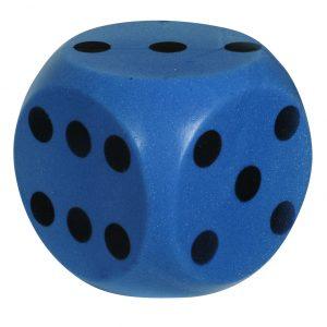 Dobbelsteen Soft Blauw