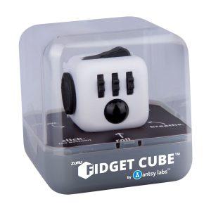 Fidget Cube Wit in doos