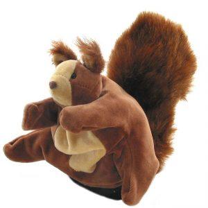 Handpop Eekhoorn