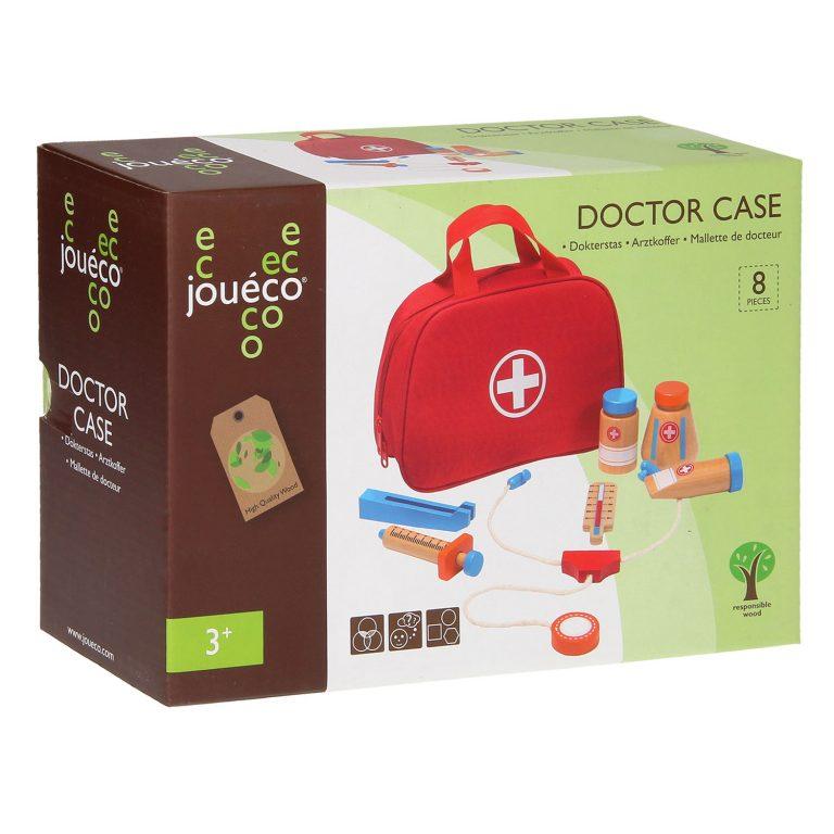Joueco Dokterstas met accesoires 11-delig (2)