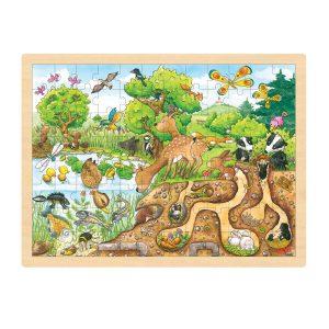 Puzzel Natuur 96 stuks
