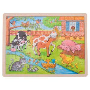 Puzzel Op de Boerderij 48 stuks