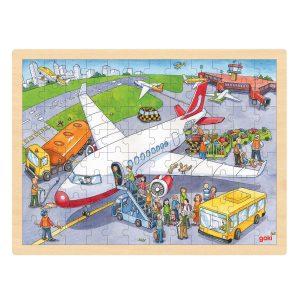 Puzzel Vliegveld 96 stuks