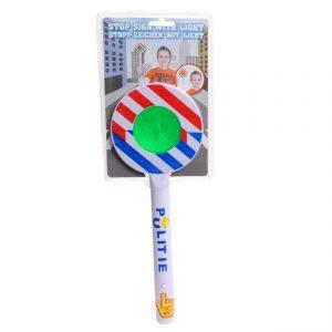 Stopbord / Spiegelei Politie