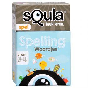 sQuala Spelling Woordjes groep 3-4