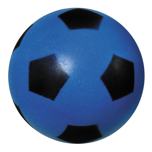 Softbal met Voetbalprint