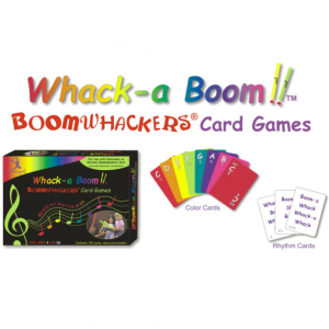 Whack-a Boom Boomwhackers Card Games