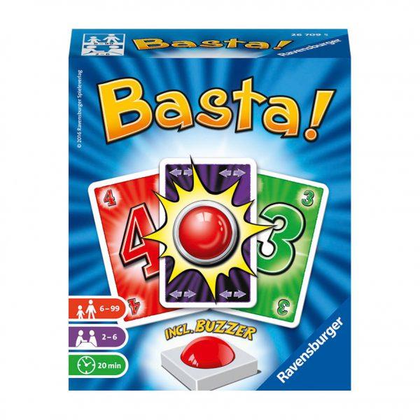 Basta! Kaartspel met buzzer