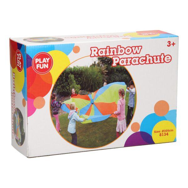 Regenboog parachute