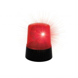 Rode Brandweer Lamp