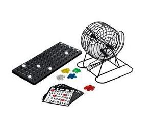 Bingo set met fiches en kaarten