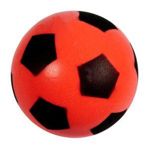 Softbal met print (12 cm)