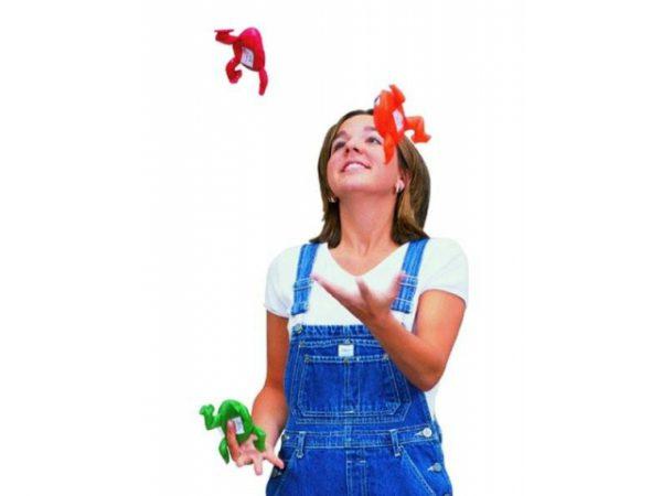 Pittenzak Kikker jongleren