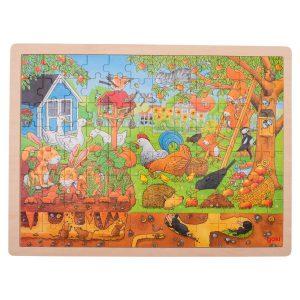Legpuzzel leven in de tuin