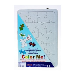Blanco puzzel 20 stukjes