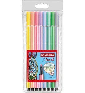 Stabilo pennen pastel