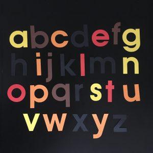 Herfst alfabet klein