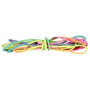 Spring elastiek regenboog