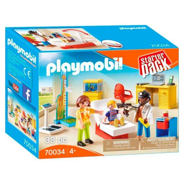 Playmobil bij de kinderarts