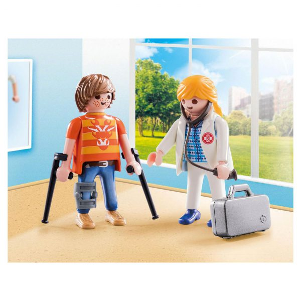 Playmobil dokter en patiënt