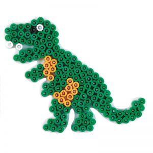 Strijkkralenbord Dino