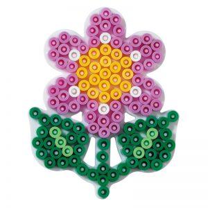 Strijkkralenbord bloem