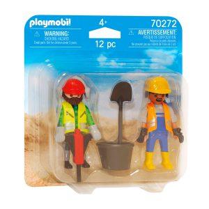 Playmobil bouwvakkers