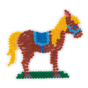 Strijkkralenbord paard