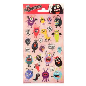 Stickervel monsters