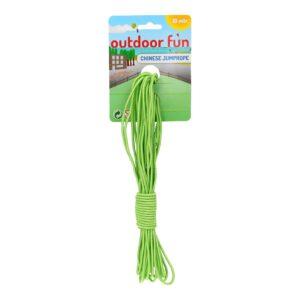 Elastiekenspel 10 meter groen