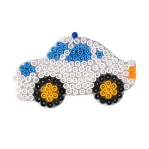 Strijkkralenbord auto