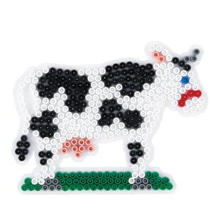 Strijkkralenbord koe