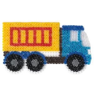 Strijkkralenbord vrachtwagen
