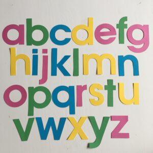 Zomer alfabet klein
