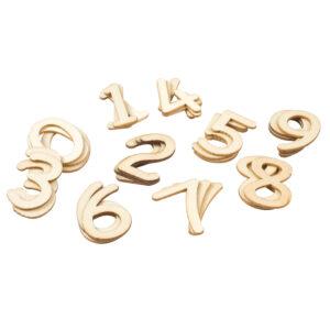 Houten cijfers 30x