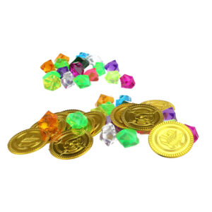 Piratenmunten en diamanten
