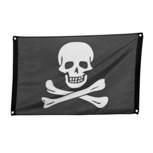 Piraten vlag 60x90cm