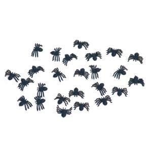 Kleine zwarte spinnen 25x