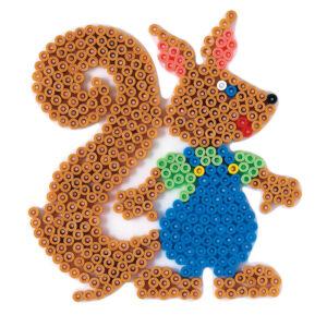 Strijkkralenbord eekhoorn