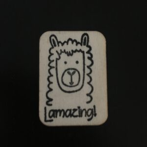 Belonings Stempel Lamazing