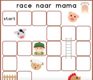 Race naar mama