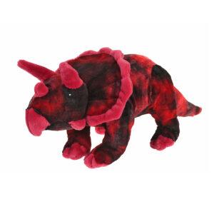 Pluche dinosaurus rood