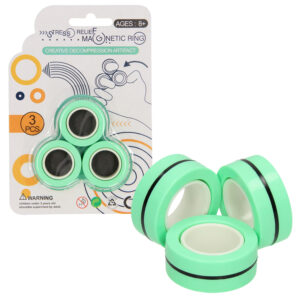 Magnetic Finger Trick Rings groen