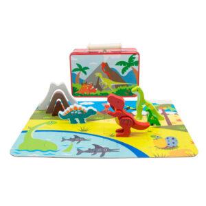 Speelkoffer dinosaurus
