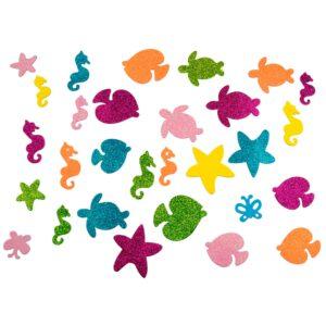 Knutselstickers zeedieren