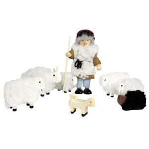 Poppenhuis set herder