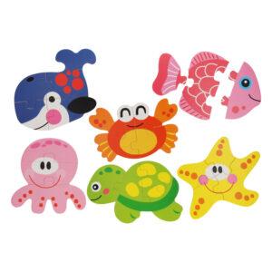 puzzels onder- waterwereld