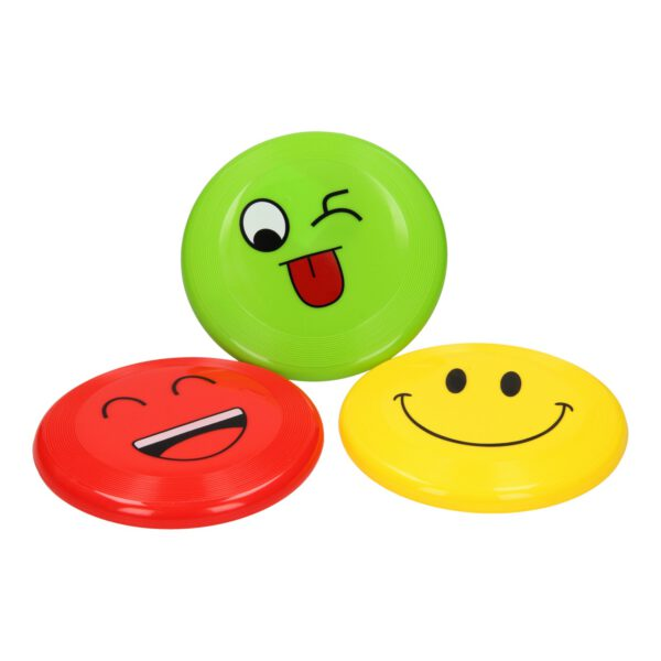 Frisbee met lachgezicht