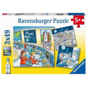 Ruimtevaart puzzel 3x49