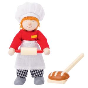 Poppenhuispop bakker